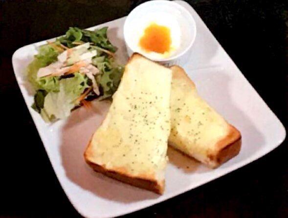 モーニングセットチーズトースト